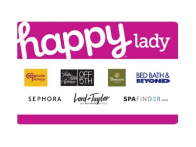 Happy Lady Gift Card $100