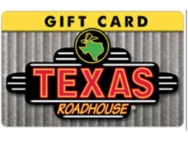 Texas Road House Gift Card $50