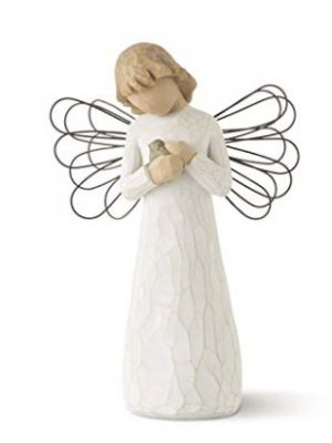 Willow Tree Angel of Healing Hand Painted S...
