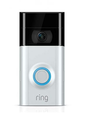 Ring Wi-Fi Enabled Video Doorbell in Satin ...