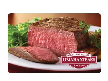 Omaha Steaks Gift Card $50