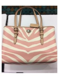 Coach Pink Zebra Purse