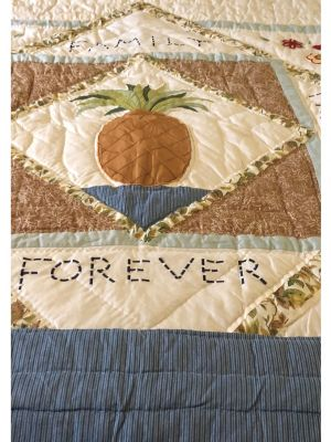 Faith Family and Friends Forever Lap Quilt