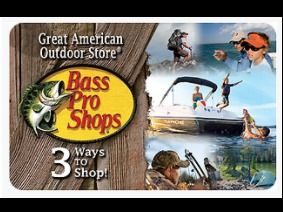 $75 Bass Pro Shop Gift Card