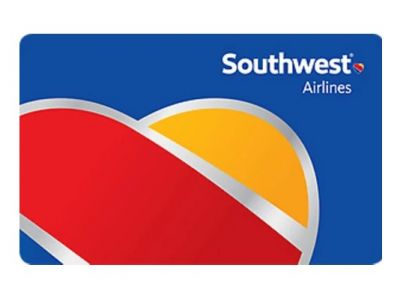 Southwest Airlines $150 Gift Card