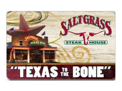 Salt Grass Steak House $75 Gift Card