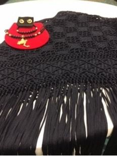Colombian Shawl and Jewelry