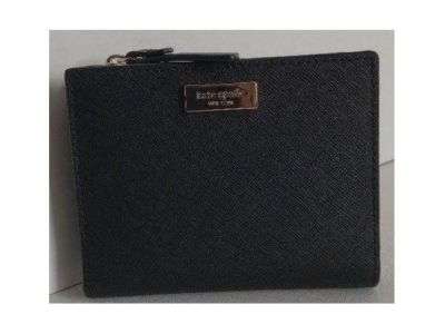 Kate Spade Small Shawn Laurel Way Wallet Bl...