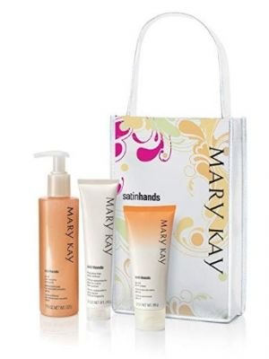Mary Kay Satin Hands Pampering Set  Peach