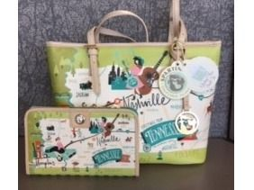 The spartina 449 Tenessee Small Tote and Wa...