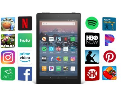 All New Fire HD 8 Tablet  8 inch HD Display...