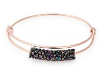 Alex and Ani Meteor Shower Beaded Bangle