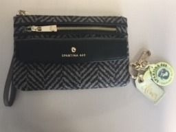 Spartina Clutch and Key Ring