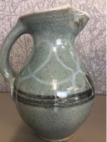 Mark Hewitt  Glazed Pottery Pitcher