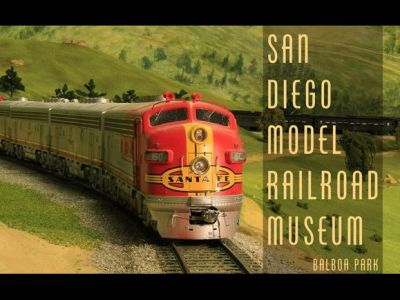 4 Admission Passes to San Diego Model Railroad Museum