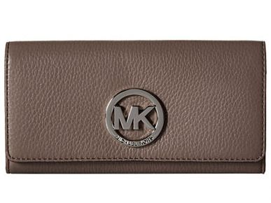 Michael Kors Fulton Leather Carry-All Walle...