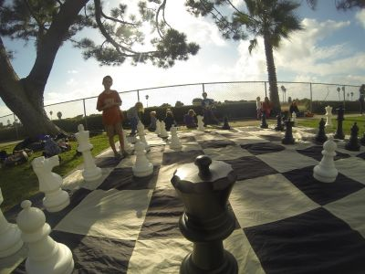 Life Size Chess Party for up to 14 people w...