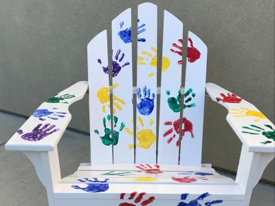 Adirondack Chair from Ham's 2nd grade Class