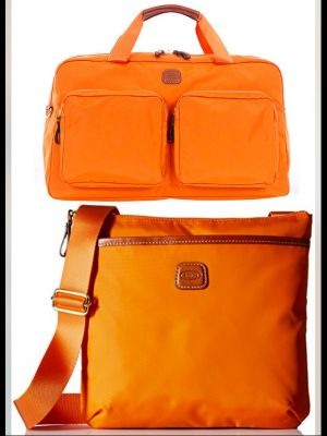 Brics Duffle and Coordinating Cross body handbag
