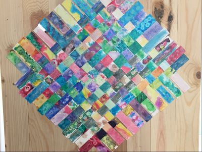 Friendship Weave Wall Art Made by Maestra Talcove