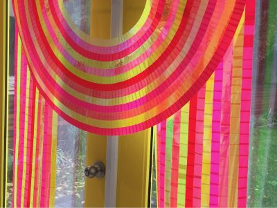Sunbow by Cheryl Sorg (Tape Wall Hanging) D...