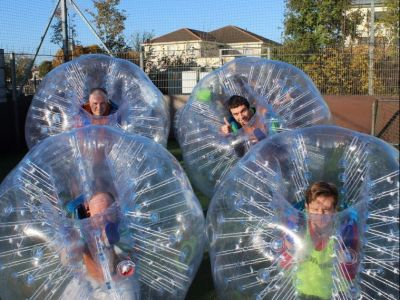 Bubble Soccer for PEC 4th-6th graders