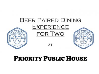 Priority Public House Beer Paired Dining Ex...