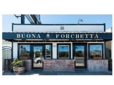 $100 to dine at Buona Forchetta