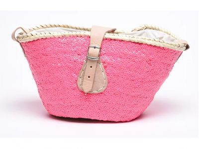 Beachwood Baby Mini-me Sequin Bag Pink