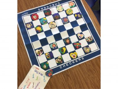 Class Art: Checkers & Connect 4